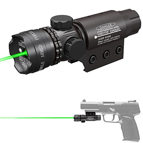 Feyachi Tactical Green Laser Sight 532nm with Picatinny Rail