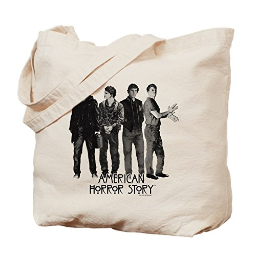 CafePress - American Horror Story Evan Peters - Natural Canvas Tote Bag, Cloth Shopping Bag ()