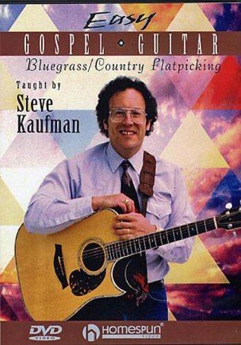 Easy Gospel Guitar: Bluegrass/Country Flatpicking [DVD]