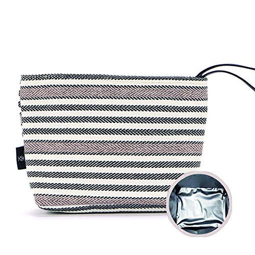 co Snack bag, Baby Food Pouch, Insulated Lunch Bag, Insulin Cooling Case, golf pouch, Waterproof, School, Work, Picnics, Travel, Men, Woman, Boy, Girl, Kid, Baby (stripe) ()