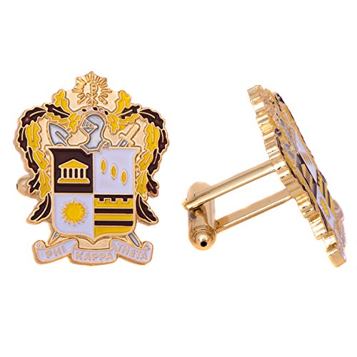 Desert Cactus Phi Kappa Theta Fraternity Crest Cufflinks Greek Formal Wear Blazer ()