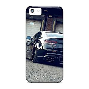 MMZ DIY PHONE CASEIphone 5c Cover Case - Eco-friendly Packaging(audi S5 Rear)