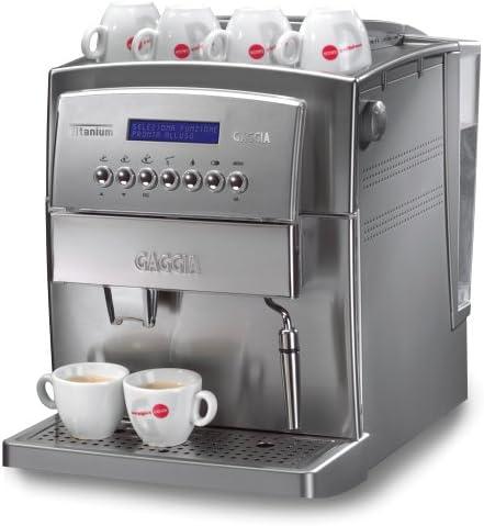 Gaggia 90500 Titanium Super Automatic Espresso Machine, Silver by ...