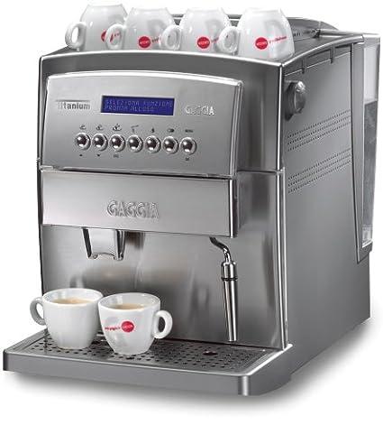 Amazon.com: Gaggia 9050 Titanio Espresso machine, Acero ...