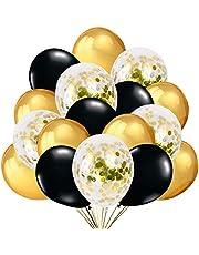 Gold Confetti Ballloons