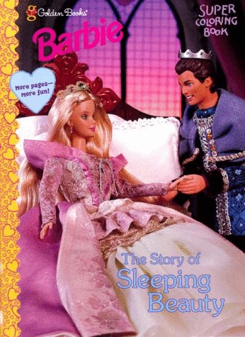 Barbie The Story Of Sleeping Beauty Barbie Super Coloring Books Amazon Co Uk Golden Books Books