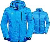 Wantdo Women's 3-In-1 Waterproof Ski Jacket Windproof Puff - Best Reviews Guide