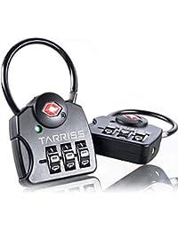 TSA Luggage Lock with SearchAlert (2 Pack)