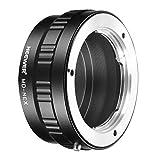 Neewer Lens Mount Adapter for Minolta MD Lens to Sony NEX E-Mount Camera A7 A7S A7SII A7R A7RII A7II A3000 A6000 A6300 A6500 NEX-3 NEX-3C NEX-5 NEX-5C