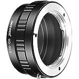 Neewer Lens Mount Adapter for Minolta MD Lens to Sony NEX E-Mount Camera A7 A7S A7SII A7R A7RII A7II A3000 A6000 A6300 A6500 NEX-3 NEX-3C NEX-5 NEX-5C NEX-5N NEX-5R NEX-6 NEX-7 NEX-VG10/20