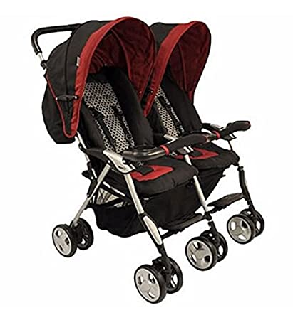 Amazon.com: Combi Twin Sport Stroller - Cranberry Noche (Closeout ...