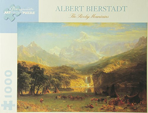 Albert Bierstadt - the Rocky Mountains: 1,000 Piece Puzzle (Pomegranate Artpiece Puzzle)