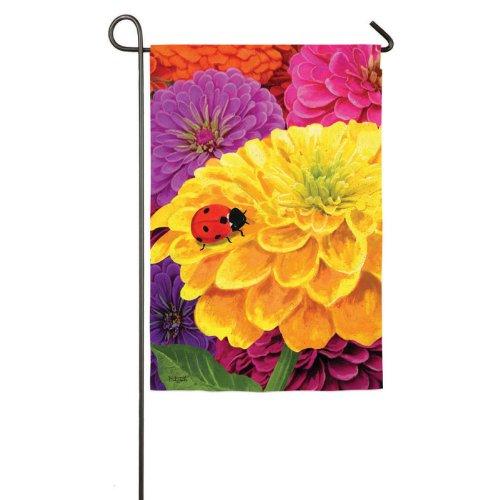ladybug-yellow-zinnia-garden-banner-125-in-x-18-in