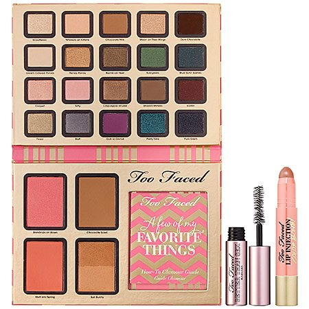 TOO FACED A few of my FAVORITE THINGS by Too Faced