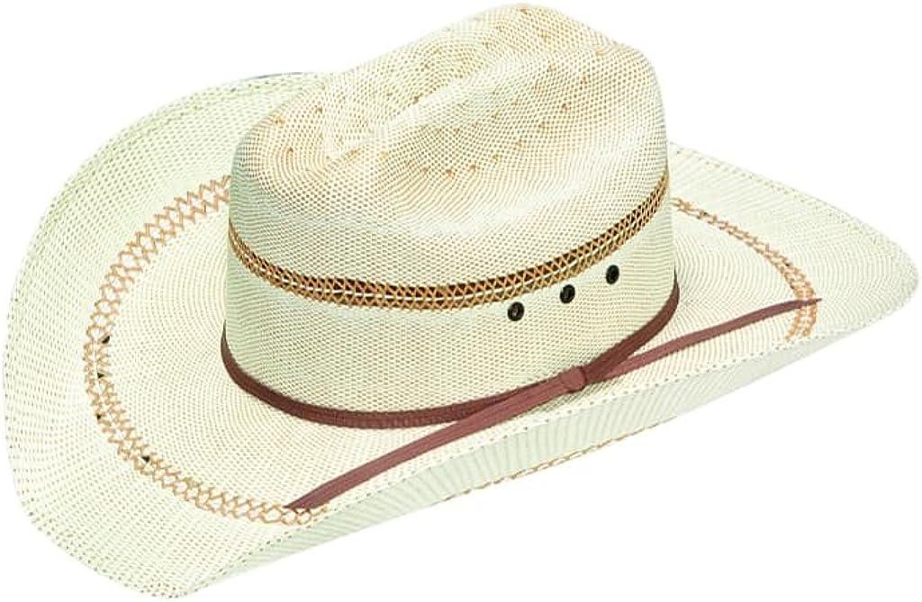 ARIAT Western Cowboy Hat Boys Cattleman Straw Golden Brown A73004