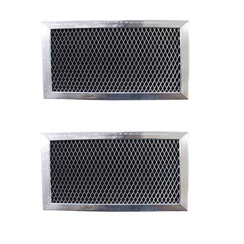 Replacement Carbon Filters compatible with GE: WB02X10956, JX81H, WB02X11544, Samsung: DE63-00367D, DE63-30016D Frigidaire: 5304453397 ()