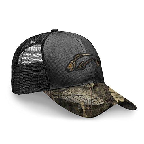 Fishouflage Bass Fishing Hat - Thunder Bay Camo Hat