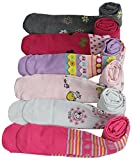 ToBeInStyle Girl's Pack of 6 Fun To Be Me Winter Tights - Medium