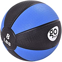 Goplus Fitness Weighted Medicine Ball for Wall Balance Training Muscle Build Workout, 8LBS