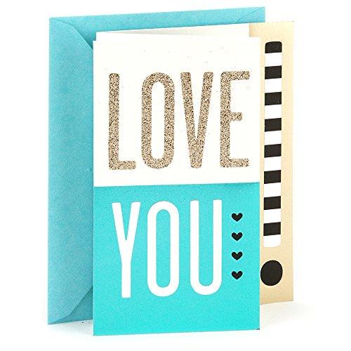 Hallmark Everyday Love Card, Romantic Birthday Card, or Anniversary Card (Love You Lots)