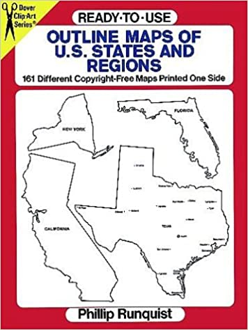 Ready-to-Use Outline Maps of the U.S. States and Regions ...
