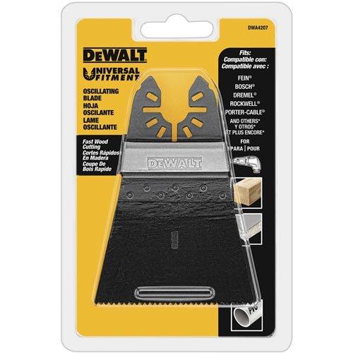 Dewalt Flat Wood - DEWALT DWA4207 Wide Oscillating Fastcut Wood Blade