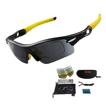 Unisex Cilindro de gafas de sol Gafas, protección UV, cristales de recambio 5 Incluye