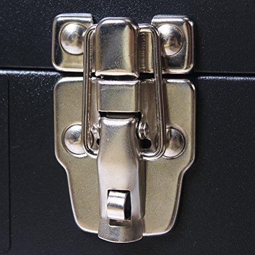 TANKSTORM Portable Steel Tool Chest with Drawers,20.6'' 4-Drawer Box Storage Organizer Cabinet Metal Toolbox,Black(X4) by TANKSTORM (Image #5)