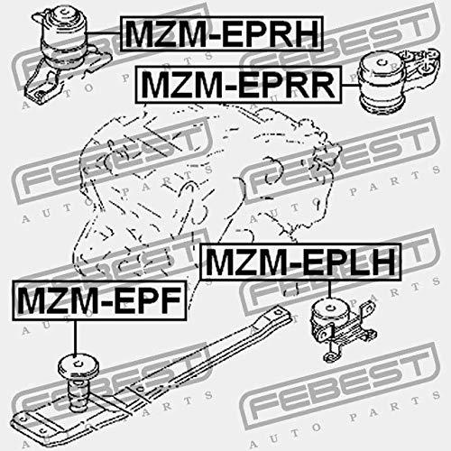 REAR ENGINE MOUNT MZM-EPRR Febest