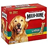 Dog Chews & Treats Milk-Bone Original Dog Biscuits – for Large-sized Dogs, 10-Pound, New For Sale