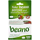 Beano Food Enzyme Dietary Supplement   Help Digest Gas-Causing Foods   100 Tablets   Packaging May Vary