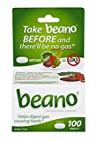 Beano Tablets | Take Beano To Help Digest Gas Causing Foods | 100 Tablets Per Box | Packaging May Vary