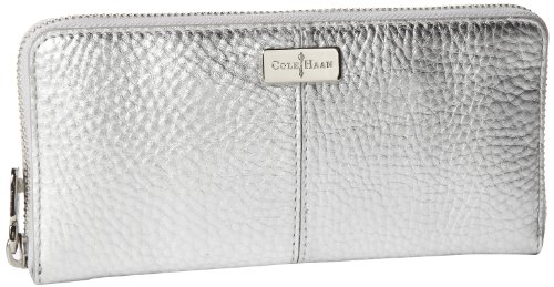 Cole Haan Village Travel Zip B41504 Wallet,Argento,One Size, Bags Central