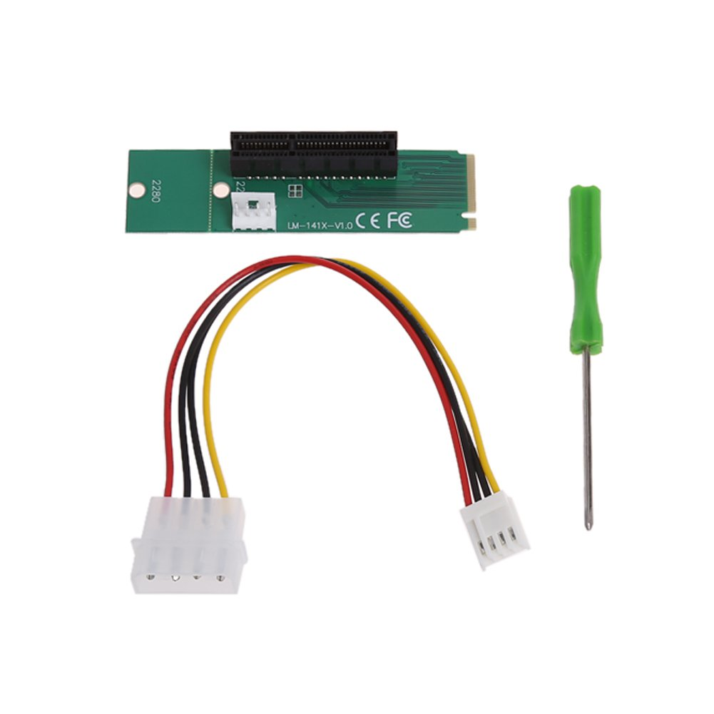 M.2 NGFF SSD to PCI-e Express 4X Converter Adapter Card