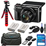 Canon PowerShot G7 X Mark II Digital Camera + 2 NB-13L Batteries + Pixi Accessory Kit - International Version