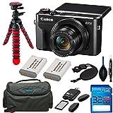 Canon PowerShot G7 X Mark II Digital Camera + 2 NB-13L Batteries + Pixi Accessory Kit - International Version