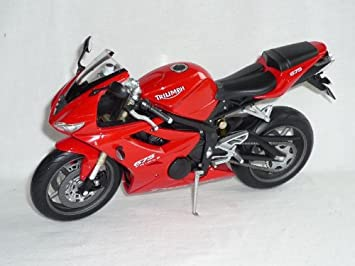 Motorrad Modell 1:18 Triumph Daytona 675 rot von Maisto