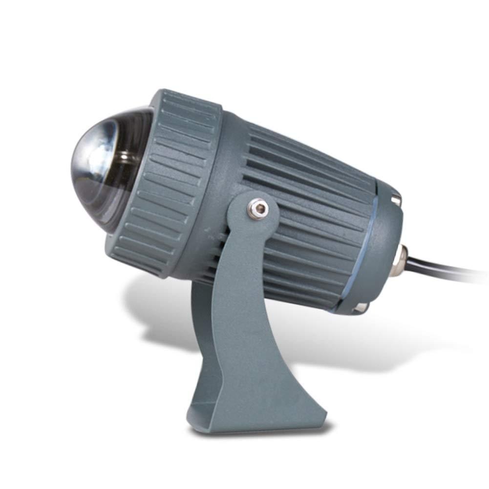 Csndice Home LED Faretto Da EsternoFaretto Impermeabile Per Esterni A Lungo Raggio Optional Sei Tipi Di Fonti Luminose IP65 66 (colore   rosso light)