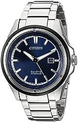 Citizen Eco-Drive Men's AW1450-89L Titanium Watch
