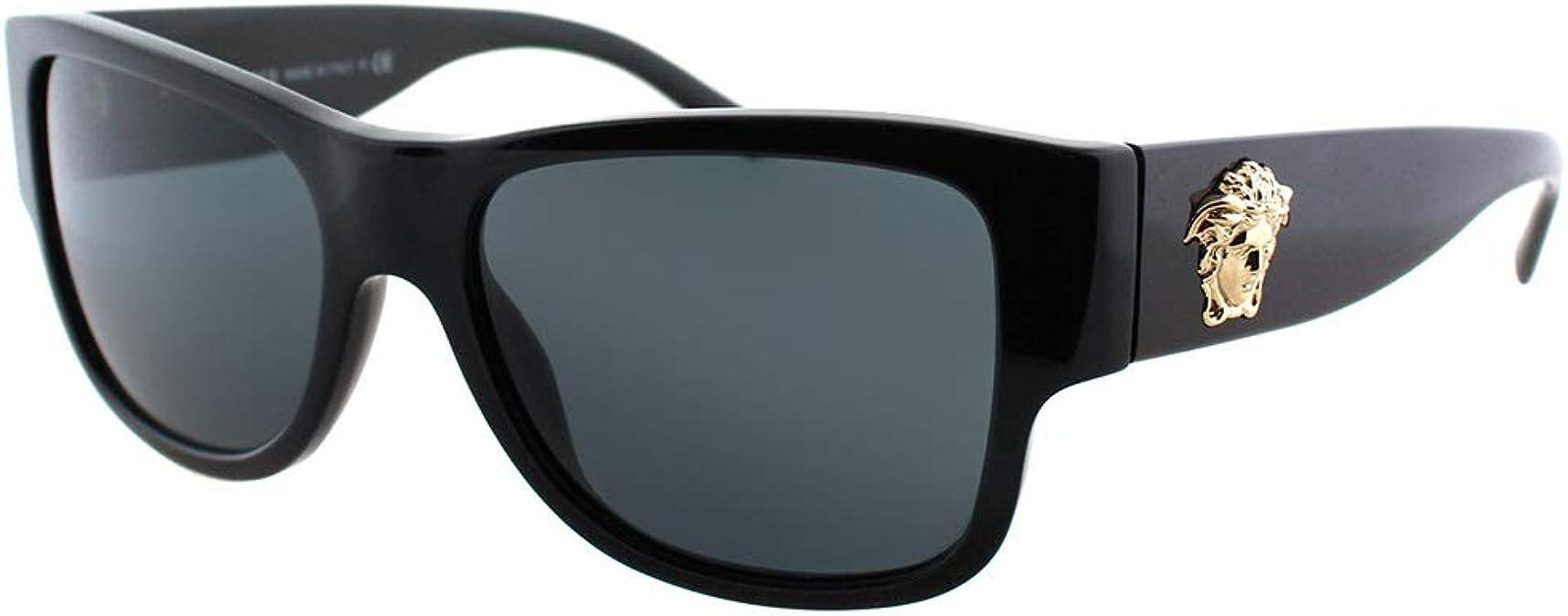 New Versace Black Hard Cell Eyeglasses Case