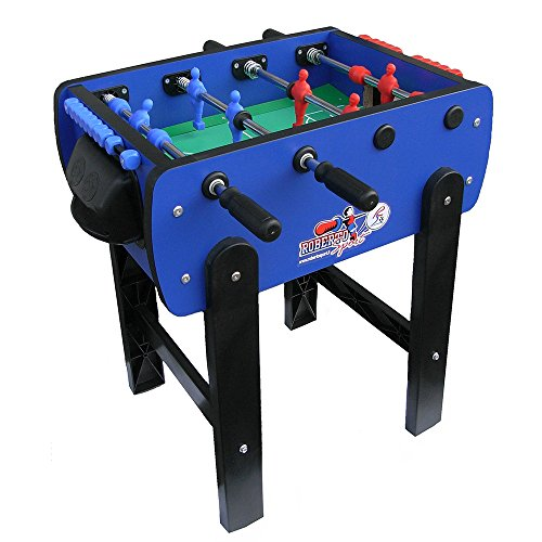 Roberto Sport Roby Blue Foosball Table by Roberto Sport