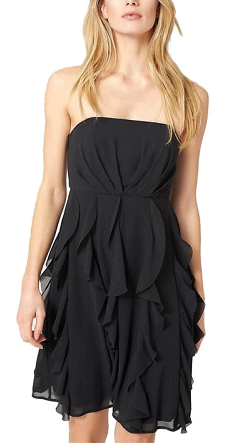 Allbebe Women's Flounced Chiffon Sexy Strapless Party Dress Skirt