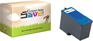CompAndSave Replacement for Dell MK993 / MK991 Tri-Color Series 9 Ink Cartridge