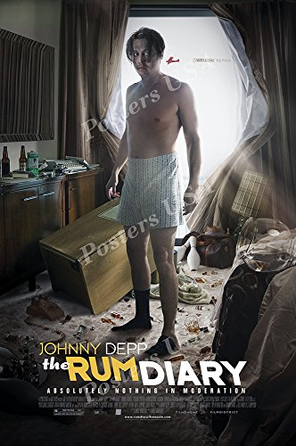 """Posters USA - The Rum Diary Movie Poster GLOSSY FINISH- MOV722 (24"""" x 36"""" (61cm x 91.5cm))"""