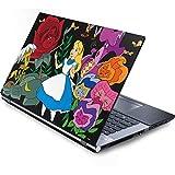 Skinit Decal Laptop Skin for Generic 17in Laptop (15.2in X 9.9in) - Officially Licensed Disney Alice in Wonderland Design