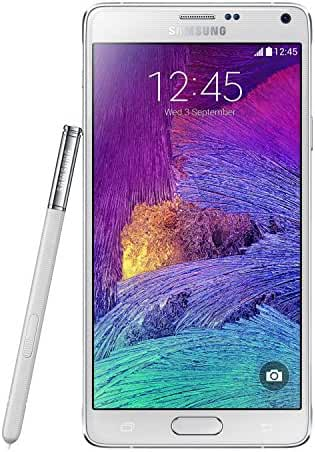 Samsung N910V Galaxy Note 4, 32GB, Verizon Network 4G LTE (Frosted White)