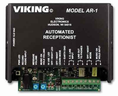 Viking Electronics Single Line Automated Receptionist (Line Viking Call 2)