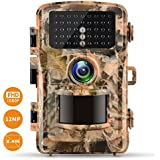 Trail Camera Campark 12MP 1080P 2.4 LCD Game & Hunting Camera with 42pcs IR LEDs Infrared Night Vision up to 75ft/23m IP56 Waterproof for Wildlife Animal Scouting Digital Surveillance