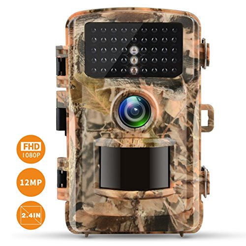Campark Trail Camera 1080P Hunting Cam 12MP 2.4