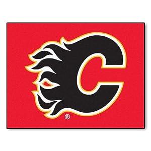 Fanmats NHL Calgary Flames Nylon Rug